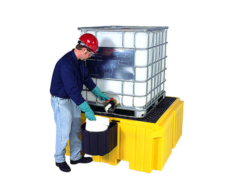 UltraTech 1158 Ultra IBC Spill Pallet Plus with Drain