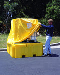 "UltraTech 1159 Pullover Cover, 63 1/2"" Length x 52"" Height, For Ultra-IBC Spill Pallet Plus"