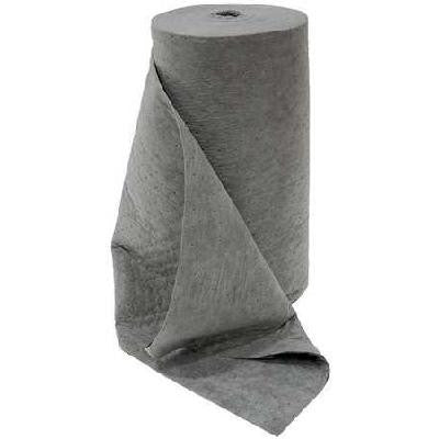 "SPILFYTER DS-97 Universal Sorbent Roll 32"" x 150' SMS Gray MW Roll (1 Bag)"