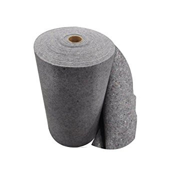 "521040 Cellulose Sorbent Roll, Recycled-Fiber, 36"" x 150 ft. Roll, 1 PK"