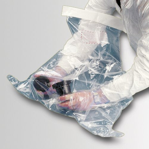 "690323 High Clarity Polyethylene Specialty Spill Control Hands-in-BaG Atmospheric Chamber, 2 Hands, Medium, 48"" Length x 39"" Width"