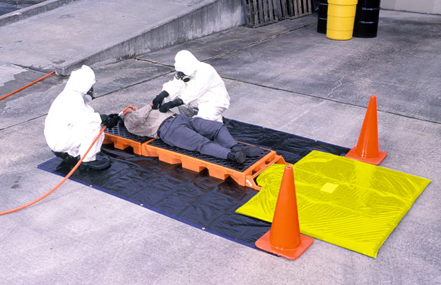 "6020 Decon Deck Non Ambulatory Model, 4500 lbs Capacity, 82-1/2"" Length x 25-7/8"" Width x 5-3/4"" Height"
