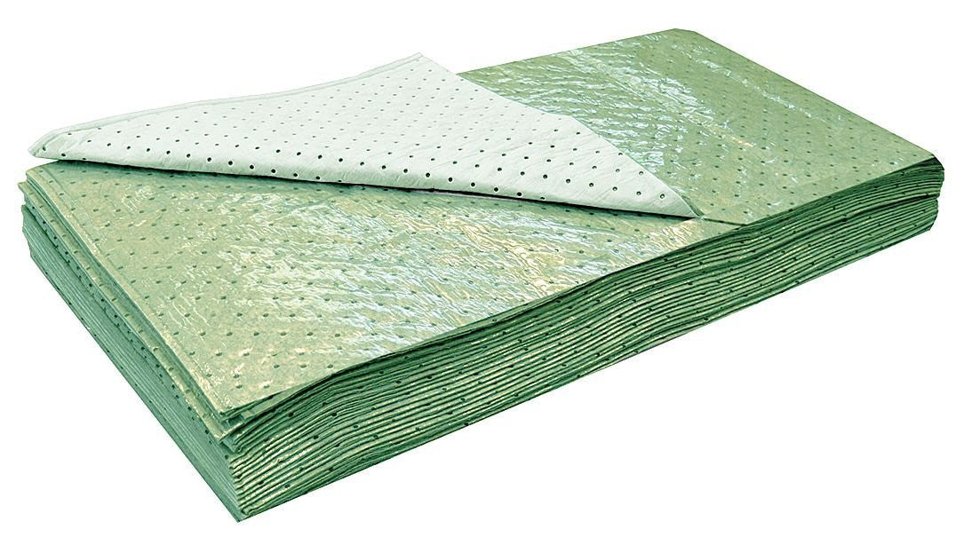 G-3254L - 54 x 32 Light Absorbent Pad for Universal, Green, 20PK