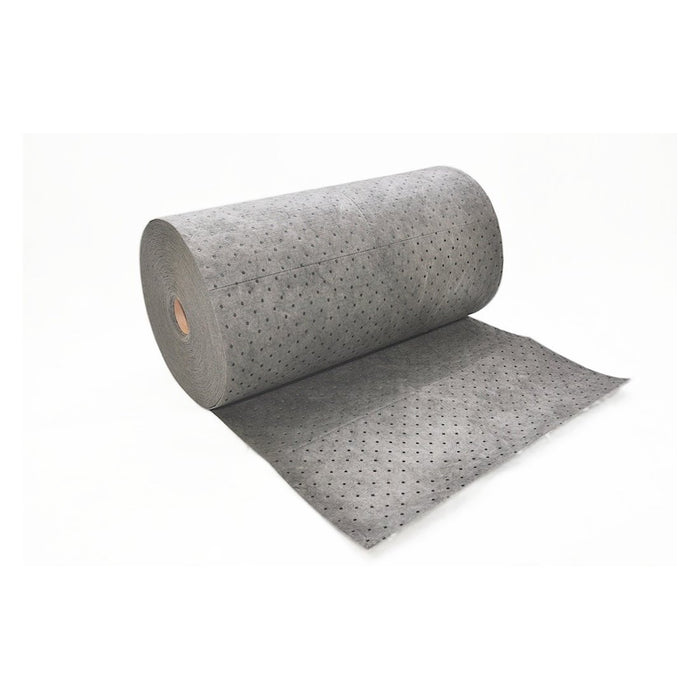 "SFG-90 Universal Sorbent Streetfyter Double Weight Roll, 150' Length x 32"" Width, Gray"