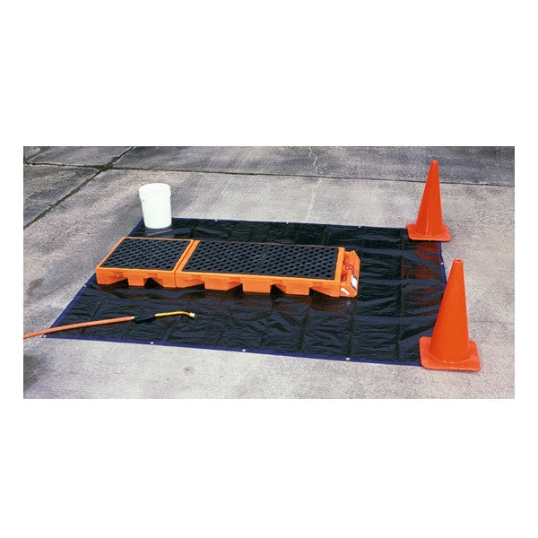 6351 Ultra-Decon Deck, Replacement 8' x 8' Tarp, For Non-Ambulatory Model