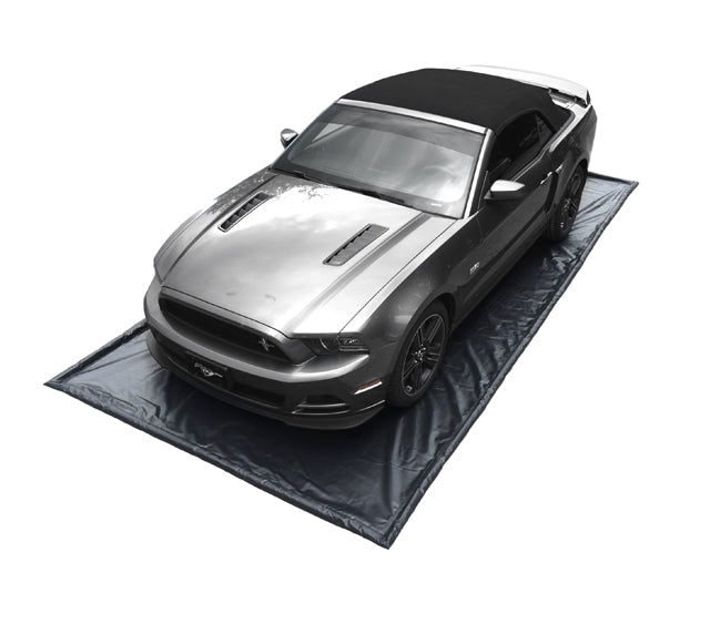 "8862 Garage Barrier, Automobile Model ( 18 oz. Black PVC), 95""x 216"" x 1""; Cont. Capacity 86.5 Gal"