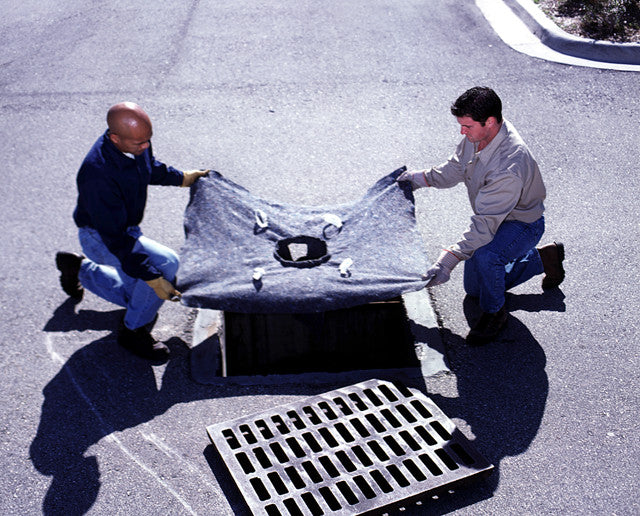 "9378 Ultra-X-Tex Recycled Ultra-Drain Guard, 48"" Length x 36"" Width x 18"" Height"