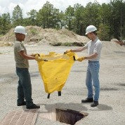 "9331 Polypropylene Geotextile Reusable Ultra-Drain Guard with Curb Style, 48"" Length x 24"" Width"