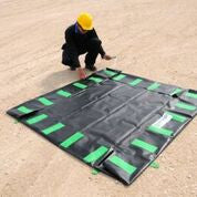 8272 Economy Copolymer Ultra-Containment Berm, 2,992 Gallon Capacity, 40' Length x 10' Width x 1' Height