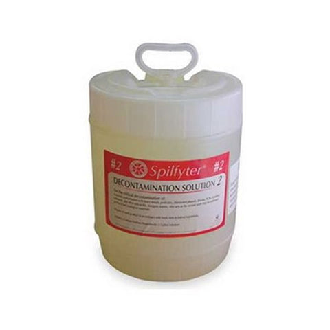 Spilfyter 680042 Decon Solution 2 For Etiological Materials, 5 Gal.