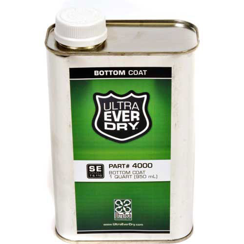 4000 Ultra-Ever Dry Bottom Coat, 1 Quart Water Repellent