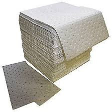 "Z-70 Absorbent Pad, Oil-Based Liquids, 16"" x 18"", Light, 200 PK"
