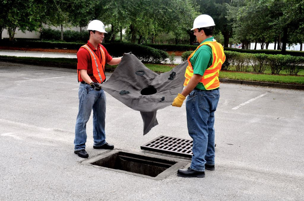 "9227 Ultra-Drain Trash and Debris Guard, 48"" Length x 36"" Width x 18"" Height"