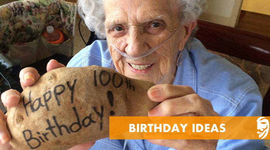 Happy Birthday Potato Mail Ideas