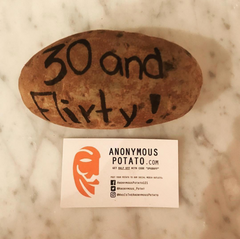 Anonymous Potato 30 Birthday Gift