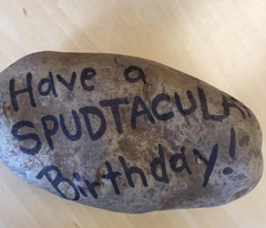 Birthday Mail Potato