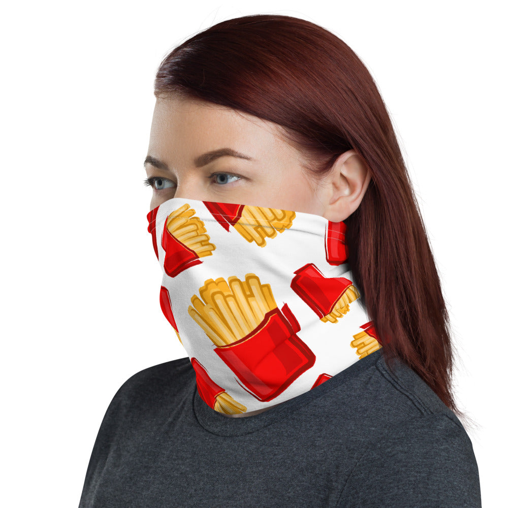 French Fry Mask & Neck Gaiter