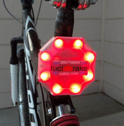 You wouldn't drive a car without a brake light... why would you drive a bike without one?