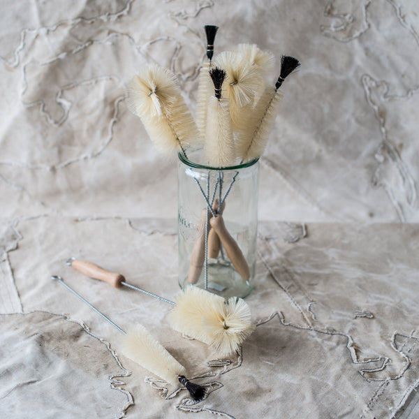 Bottle Brushes with Selection of Tips and Sizes - The Lost + Found Department