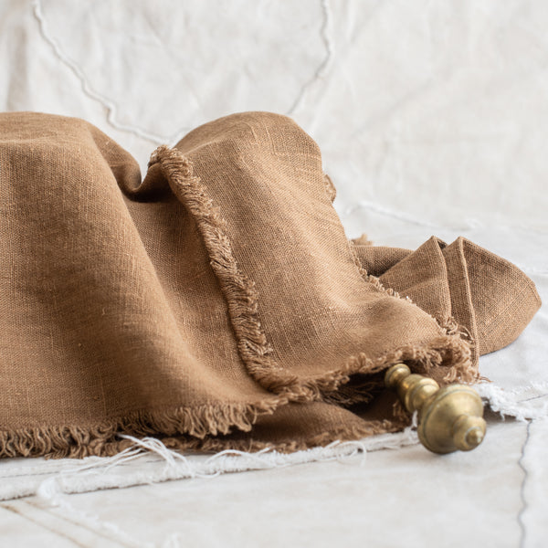 Swedish Linen Curtain Drop - The Lost + Found Department