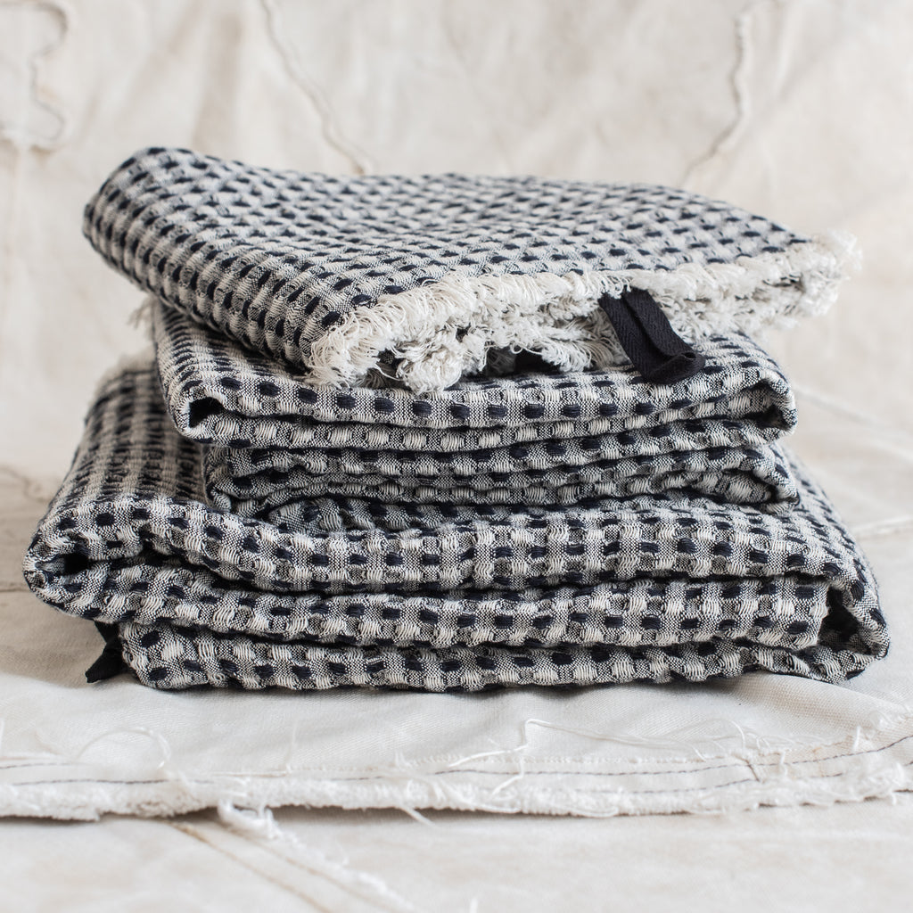 Swedish Linen/Cotton Bath Towel - The Lost + Found Department