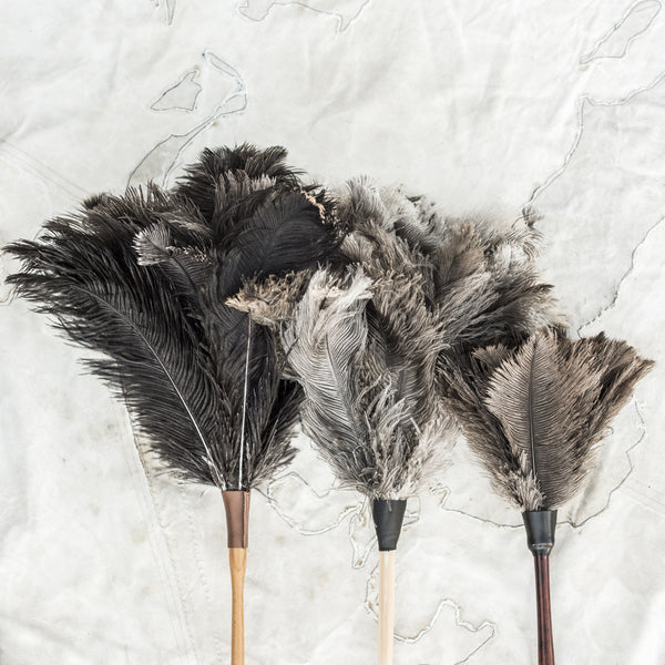 Ostrich Feather Dusters - The Lost + Found Department
