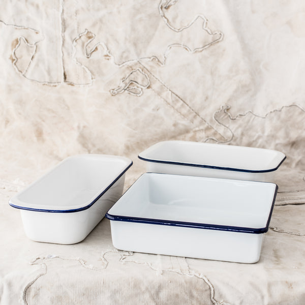 Essential Enamel Baking Pans - The Lost + Found Department