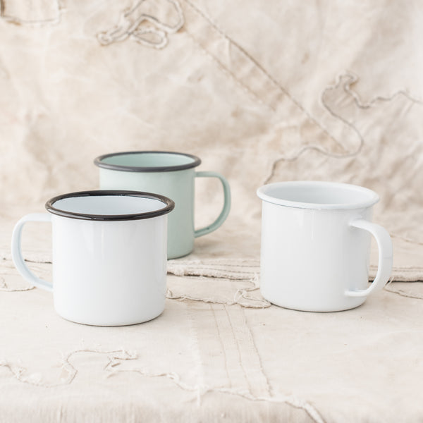 Enamel Mugs - The Lost + Found Department