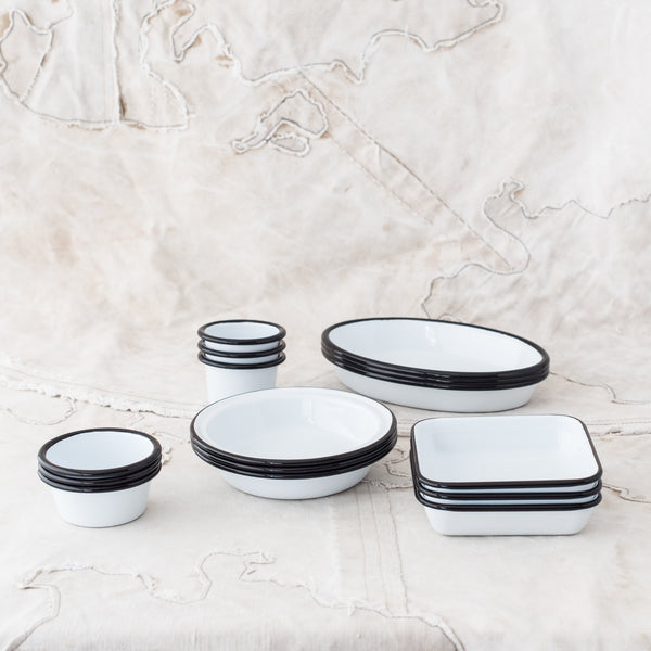 Small Enamel Essential Dishes & Ramekins - The Lost + Found Department
