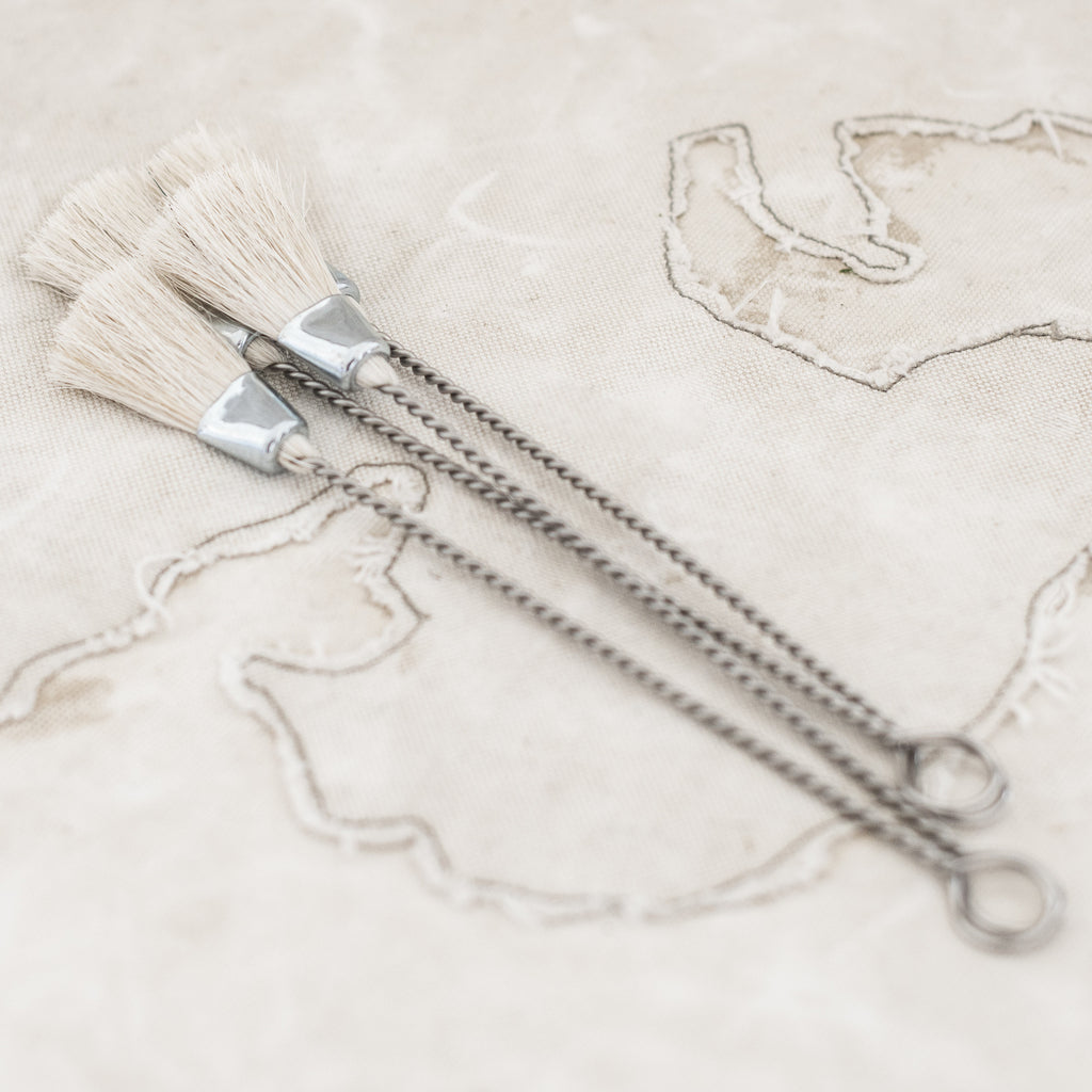 Pastry Brush White Wire $11