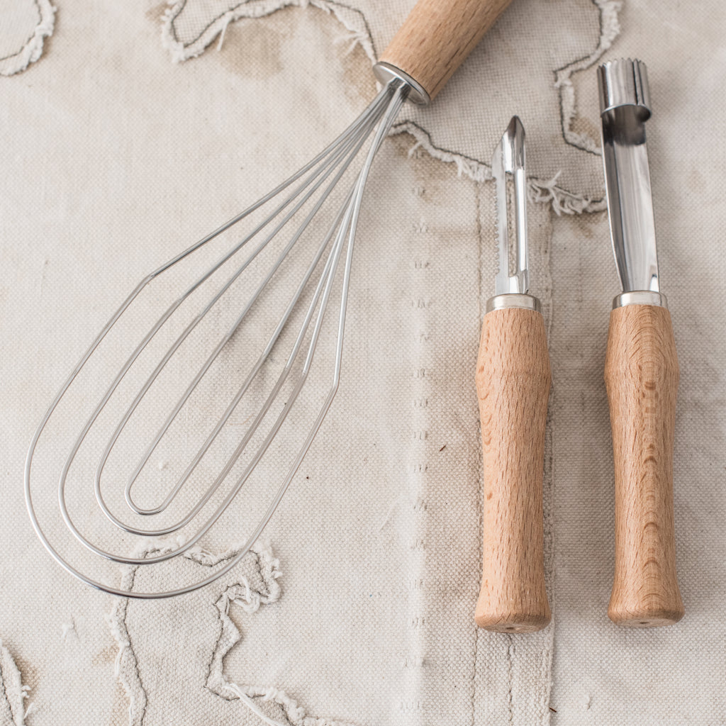 * Flat Whisk, Peeler and Corer - The Lost + Found Department