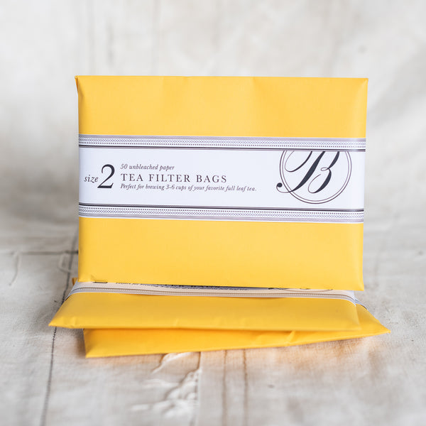 Bellocq Tea New York - Filter Bags size 2 - The Lost + Found Department