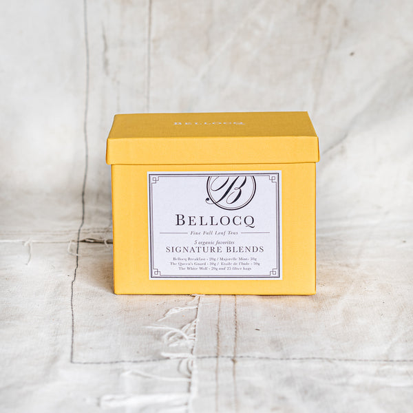 Bellocq Tea New York - Signature Blends Collection - The Lost + Found Department