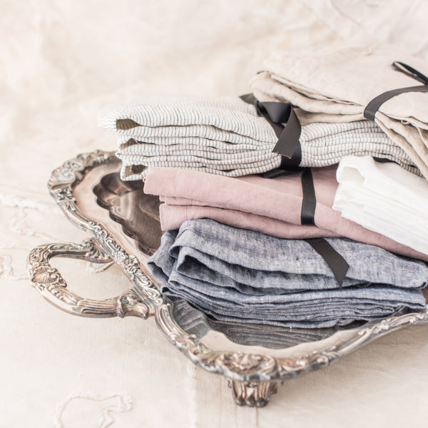 Serviettes - linen - Set of 4 - The Lost + Found Department