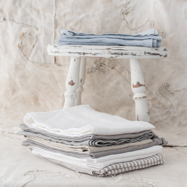 Linen Tea Towels - The Lost + Found Department