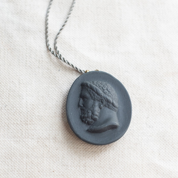 Marcie McGoldrick Porcelain Cameo Pendants - Emperor - The Lost + Found Department