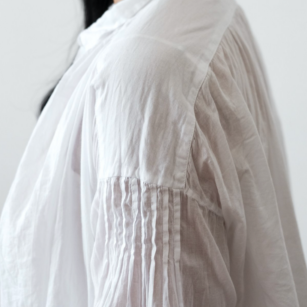 Hill Shirt - Cotton Voile - The Lost + Found Department