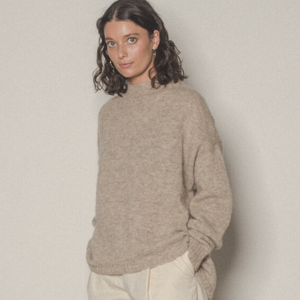 Francie Campfire Alpaca Knit - The Lost + Found Department