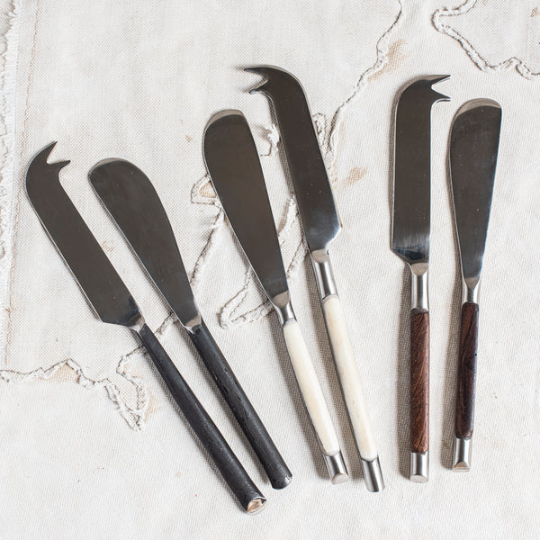 Cheese and Pate Knives - The Lost + Found Department