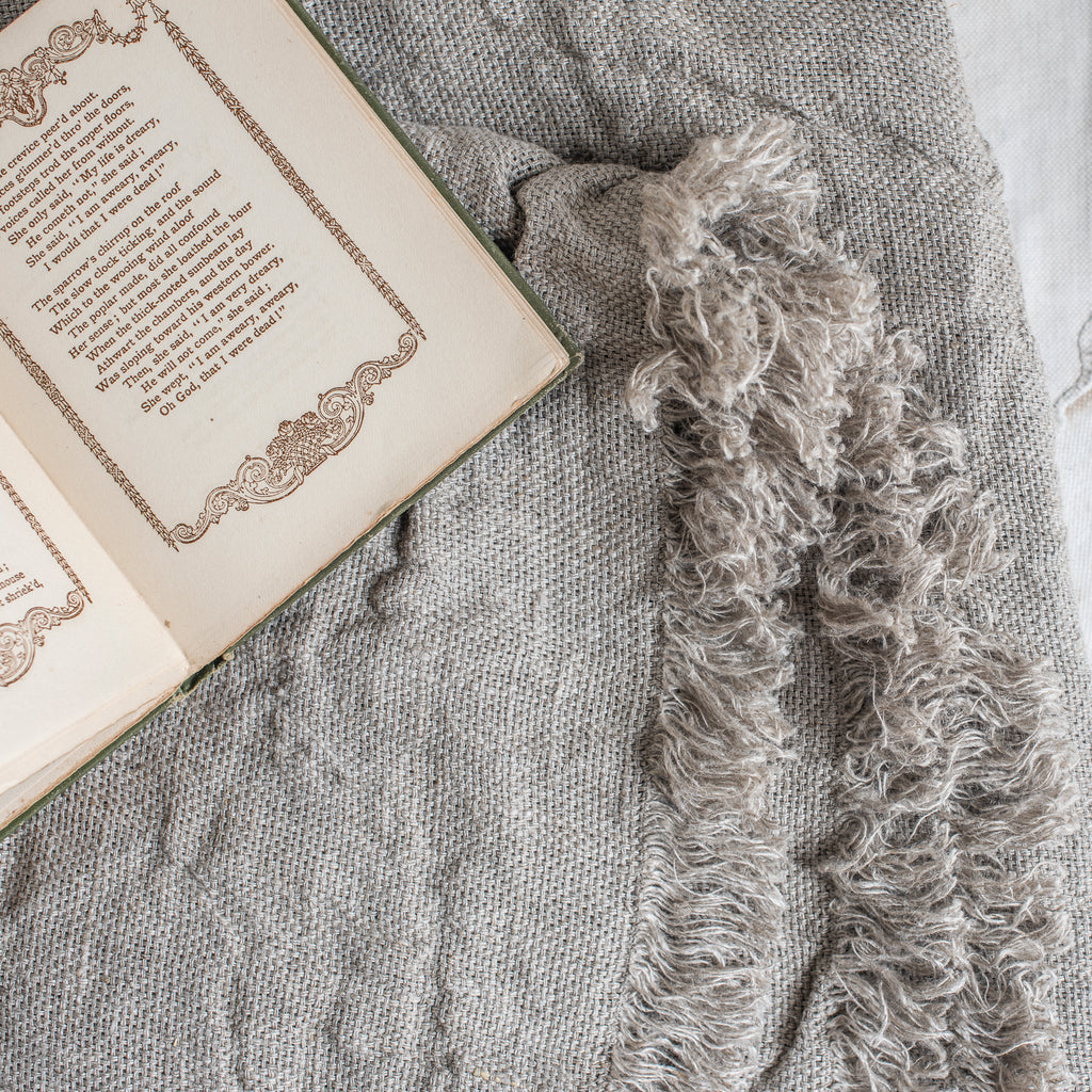 Swedish Linen  - Throw (Sara) - The Lost + Found Department