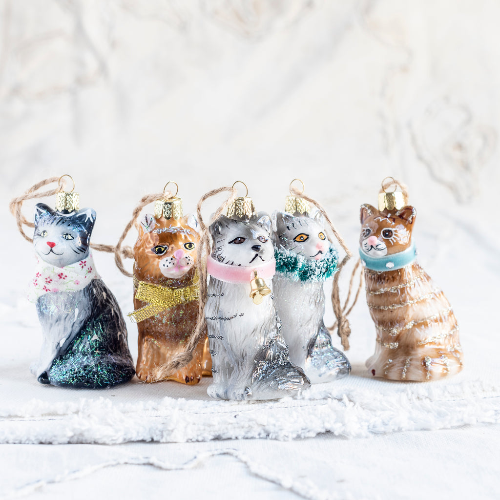 Kitten Tree Decoration - Assorted