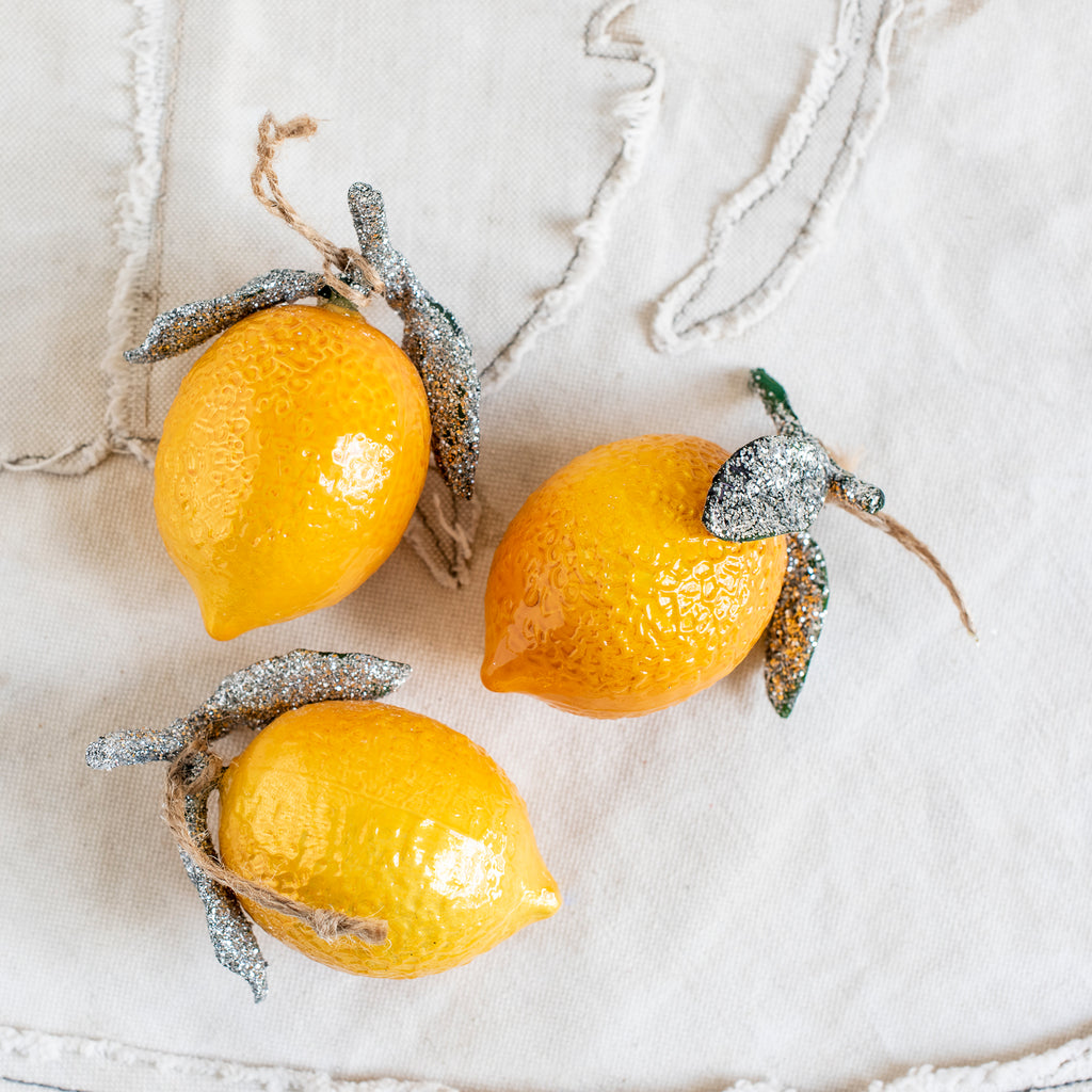 Lemon Hanging Decoration - The Lost + Found Department