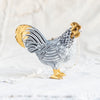 Farmhouse Rooster and Hen Tree Decoration