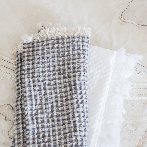 Swedish Waffle Hand towel / Tea Towel - The Lost + Found Department