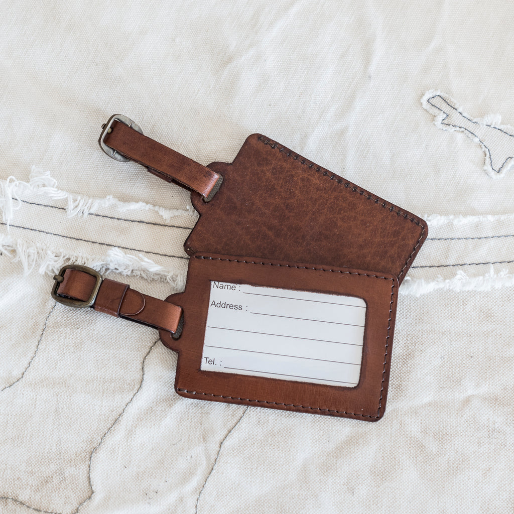 Leather Luggage Tags $29.95