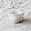Marble Dishes and Salt Cellars