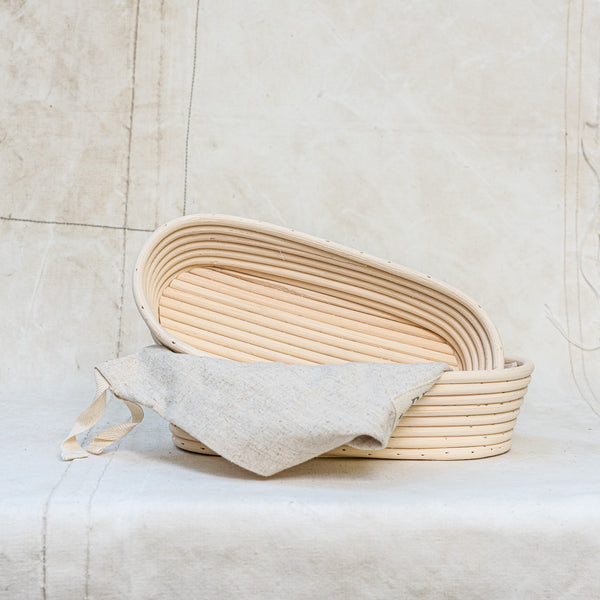 Bread Proving Basket or Banneton - The Lost + Found Department