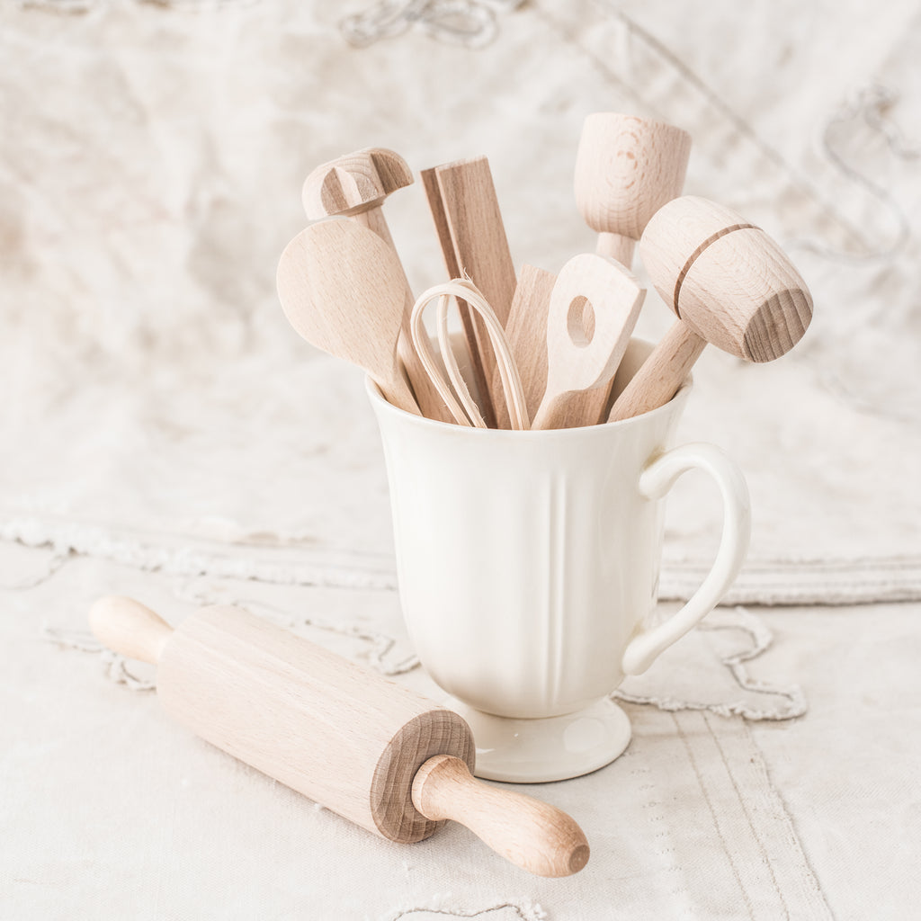 Children's Wooden Cooking Set - The Lost + Found Department