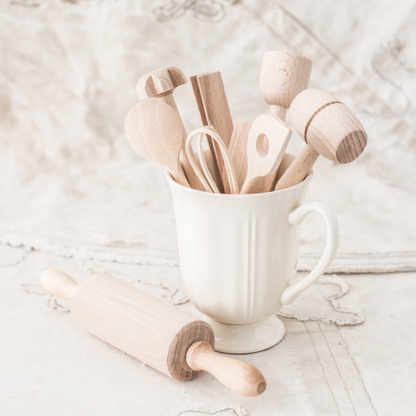 Children's Wooden Cooking Set