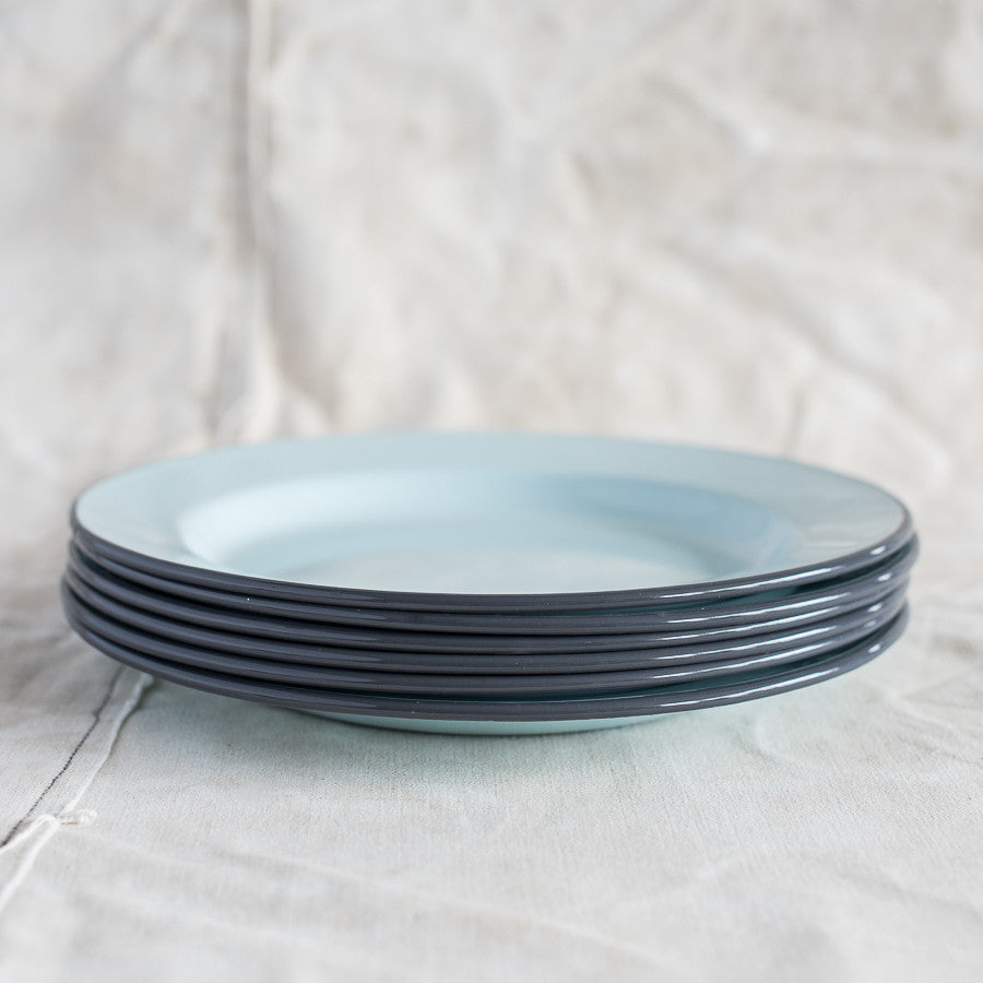 Enamel Flat Plates - The Lost + Found Department